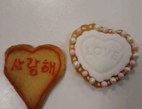 Koekjes maken voor Valentijn 12/02/2019