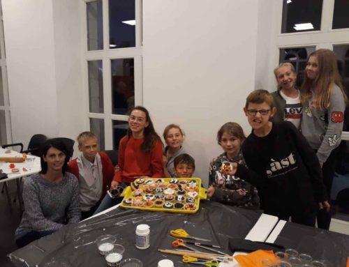 Knutselen Halloween en Student Welcome 04-10-2019